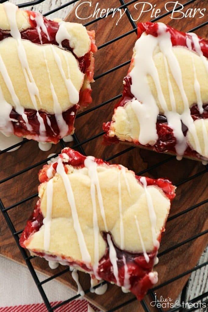 Cherry Pie Bars - These ooey gooey cherry pie bars are perfect for ...
