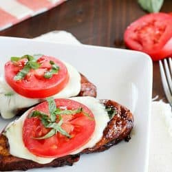 Caprese Balsamic Chicken Recipe