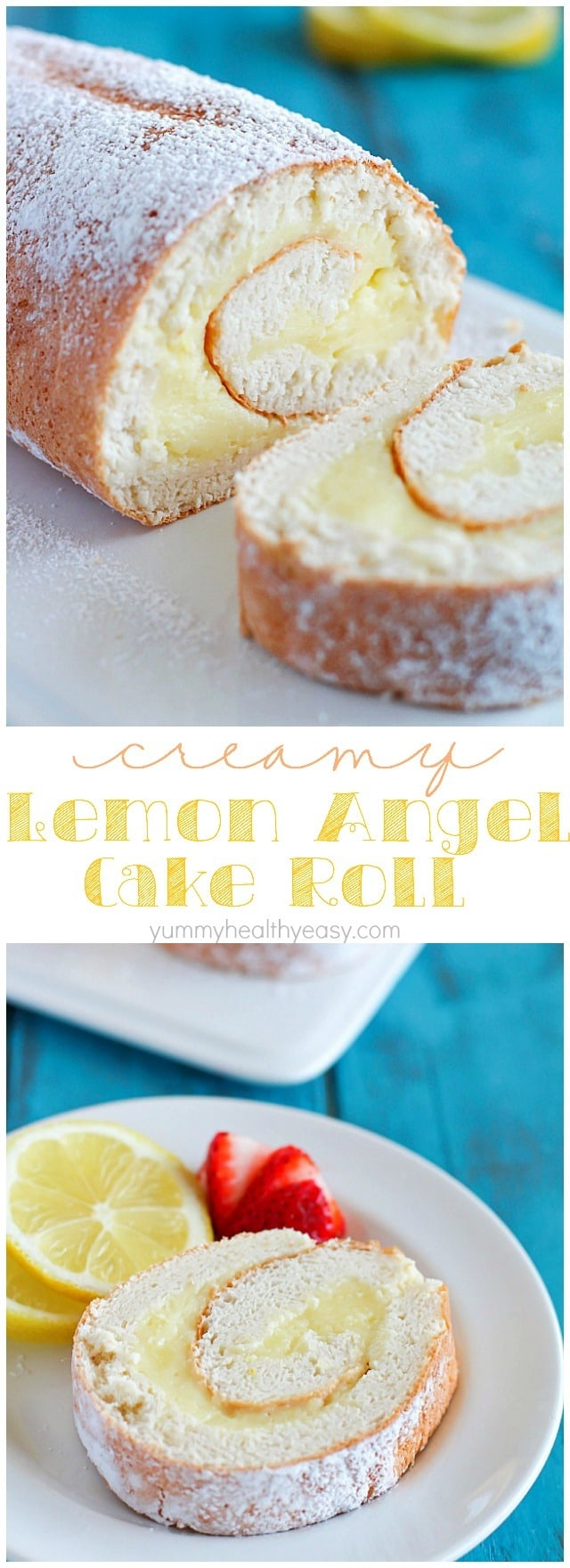 Lemon Cake Roll Taste Of Home