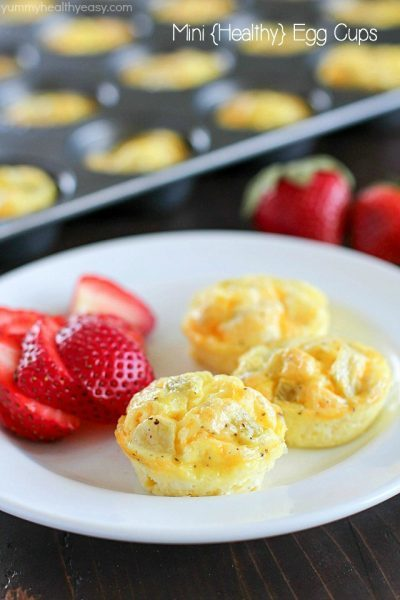 Mini Egg Breakfast Muffins Yummy Healthy Easy