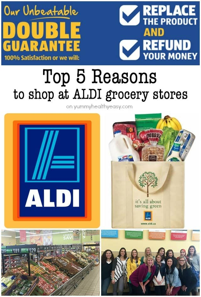 My Top 5 Reasons to Shop at ALDI Grocery Stores!