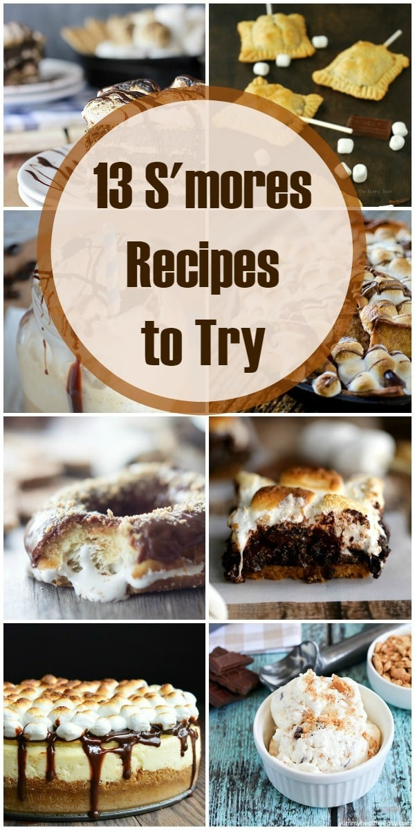 13 Smores recipes to try RIGHT NOW!