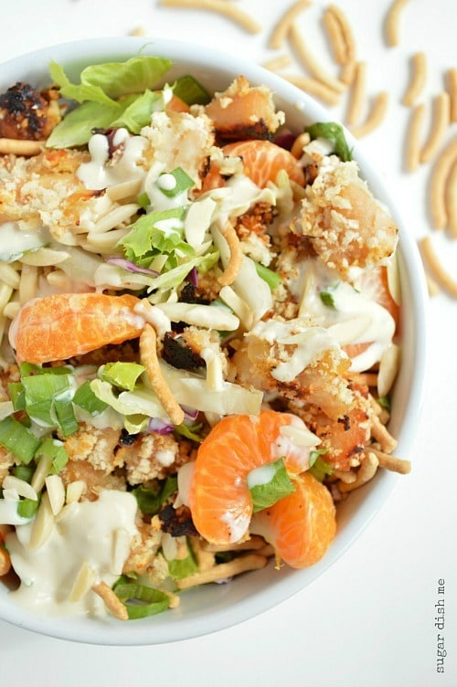 Asian Crunch Salad by Sugar Dish Me