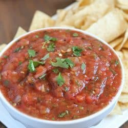 Best Ever Roasted Salsa