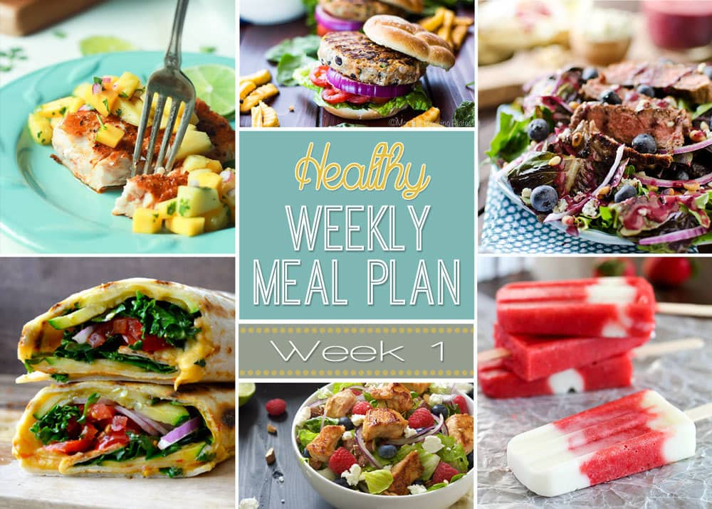 weekly healthy meal plan  1