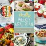 Healthy Weekly Meal Plan Week #4 - you will love the healthy breakfast, lunch, dinner and even snack & dessert recipes included in this roundup! {via yummyhealthyeasy.com}