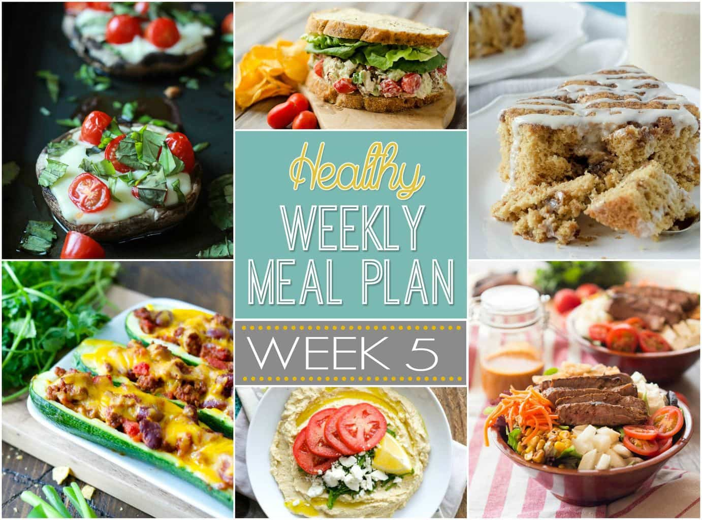 Healthy Weekly Meal Plan 5