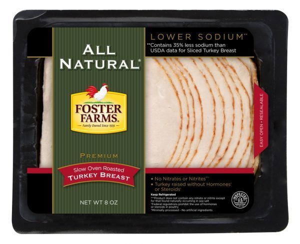Foster Farms All Natural Sliced Turkey