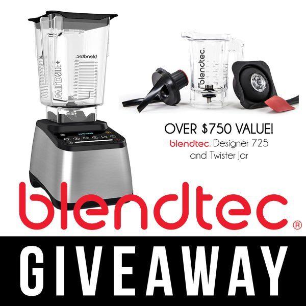 Blendtec Blender Giveaway!! {via yummyhealthyeasy.com}
