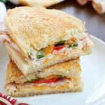 Incredibly delicious Grilled Turkey and Cheese sandwiches with a southwestern flair and homemade chipotle mayo. This is a turkey sandwich unlike any other you've tasted...