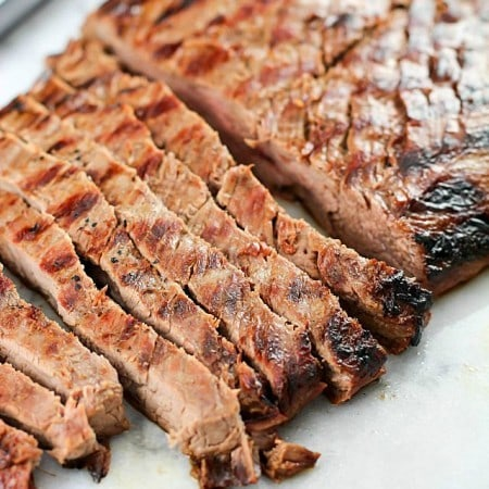 Asian Marinated Flank Steak
