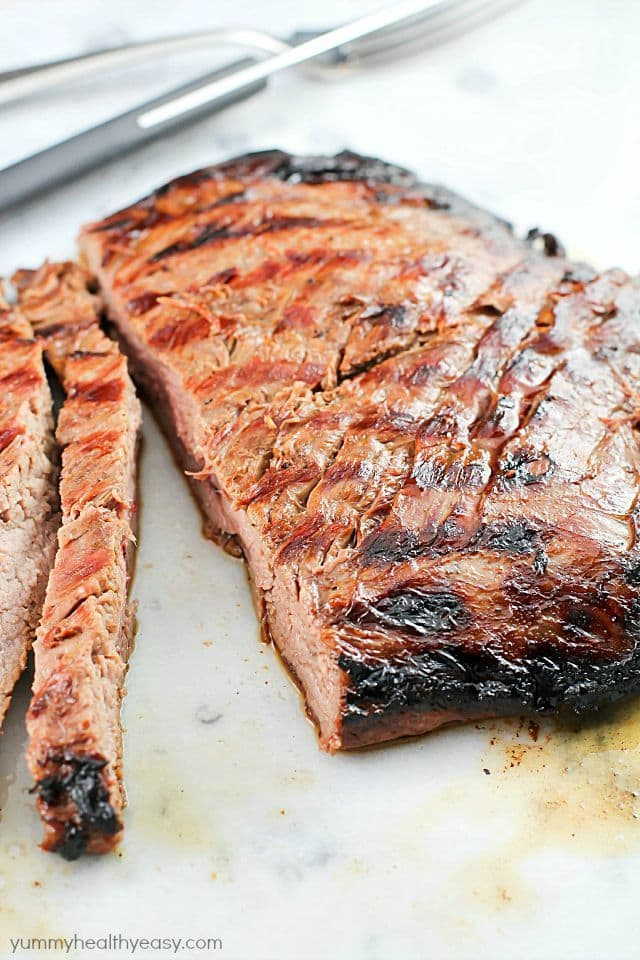 asian marinated flank steak print this asian marinated flank steak has ...