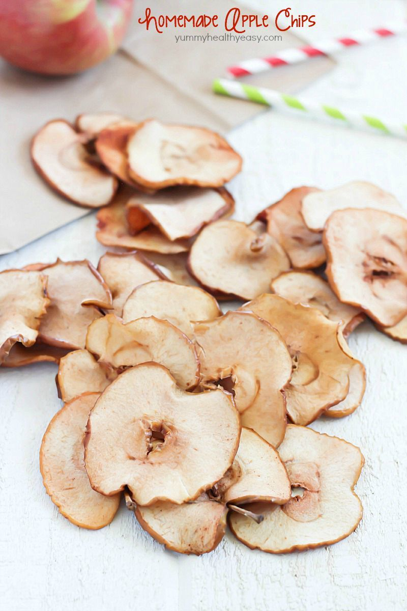 These Homemade Apple Chips are the perfect healthy snack for any time ...
