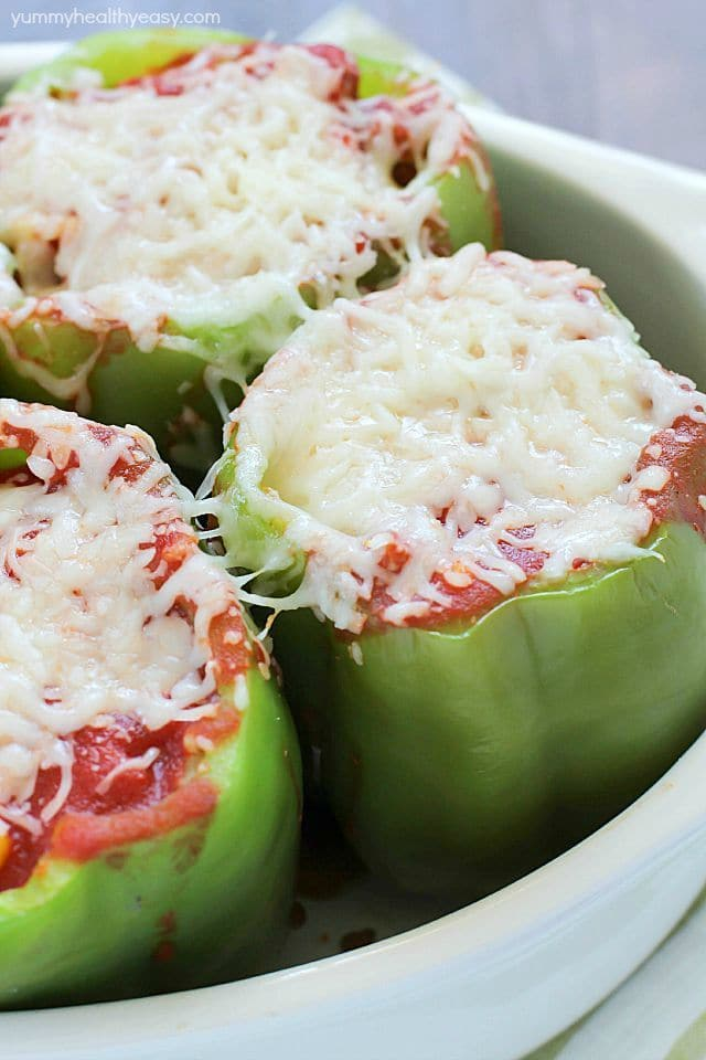 how to make easy stuffed peppers