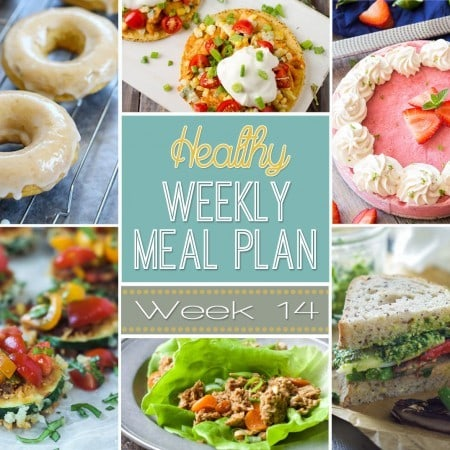 Healthy Weekly Meal Plan #14