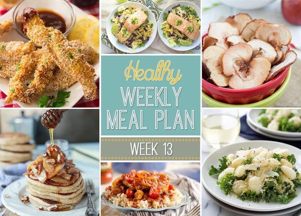Healthy Weekly Meal Plan   Yummy Healthy Easy
