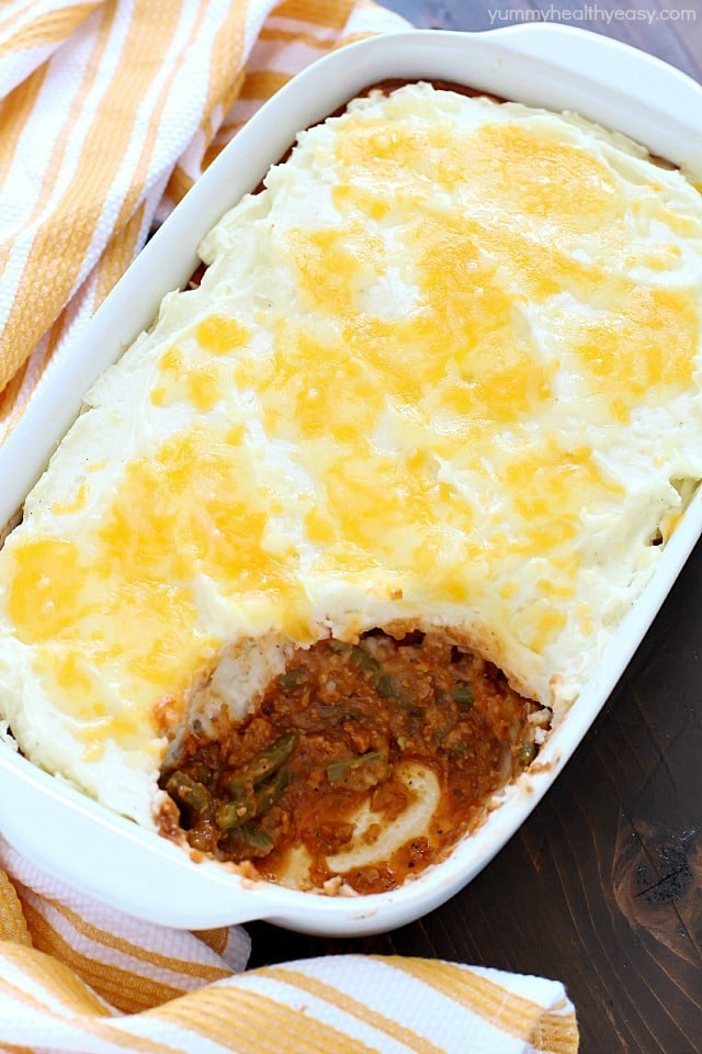 The most delicious and easy to make vegetarian shepard's pie (aka cottage pie). It's meat-free and utterly delicious! #FutureofProtein