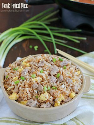 Easy 20 Minute Pork Fried Rice