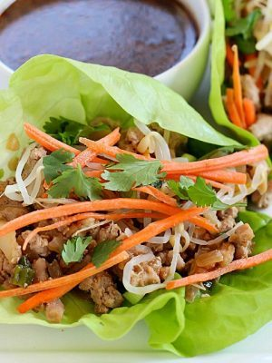 Pork Lettuce Wraps for the WIN!