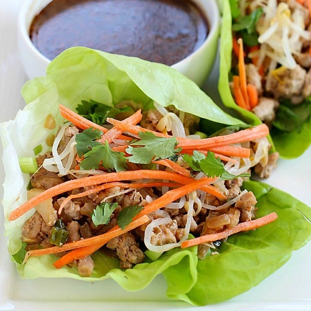 The Best Pork Lettuce Wraps + Pass the Pork Tour Recap - Yummy Healthy Easy