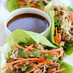 No better way to make pork lettuce wraps, than this!