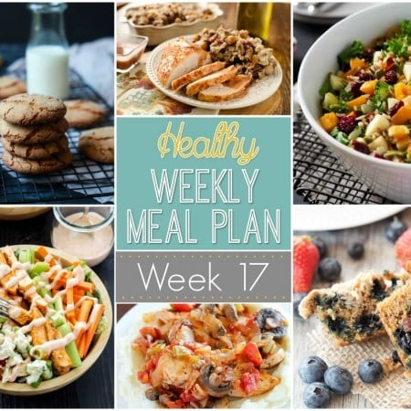 Healthy Weekly Meal Plan #17