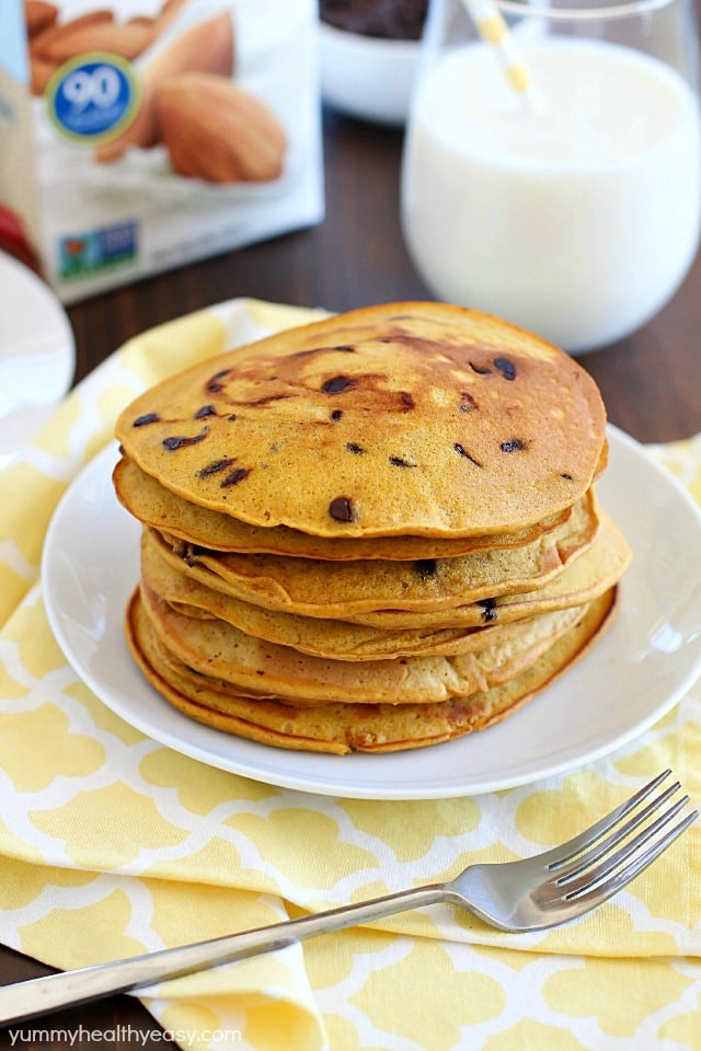 Whole Wheat Flour Chocolate Chip Pancake Recipe