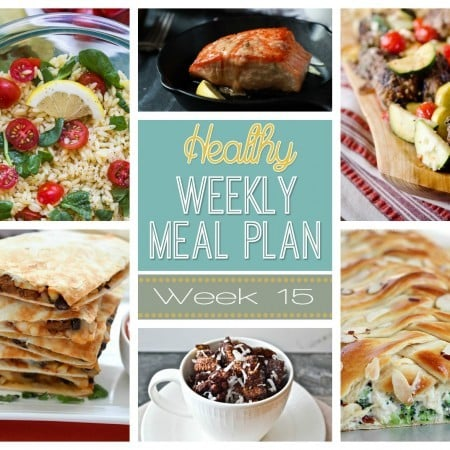 Healthy Weekly Meal Plan #15