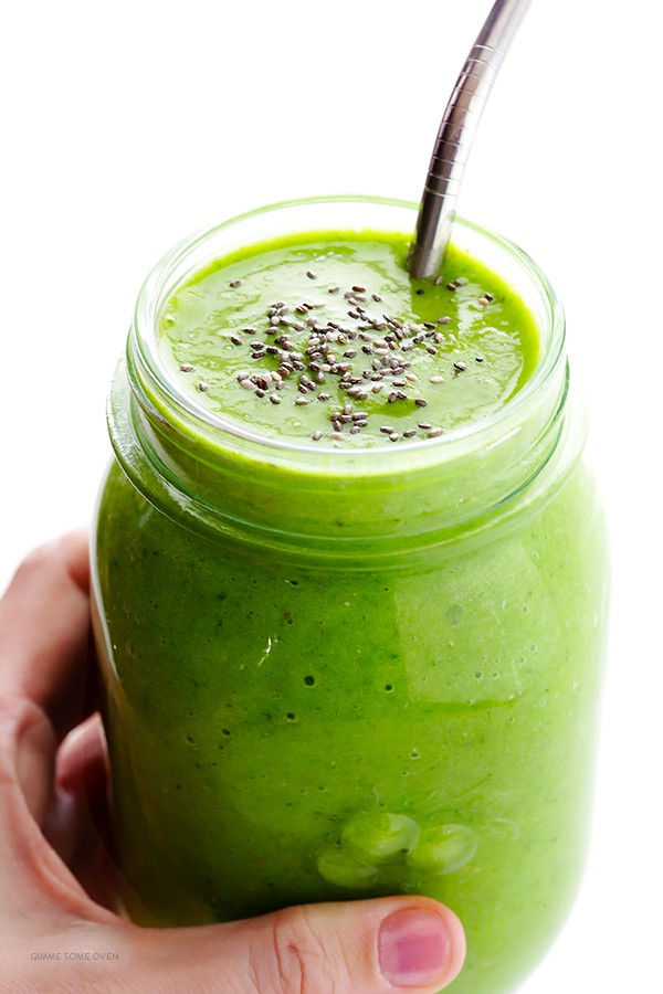Post Workout Green Smoothie by Gimme Some Oven
