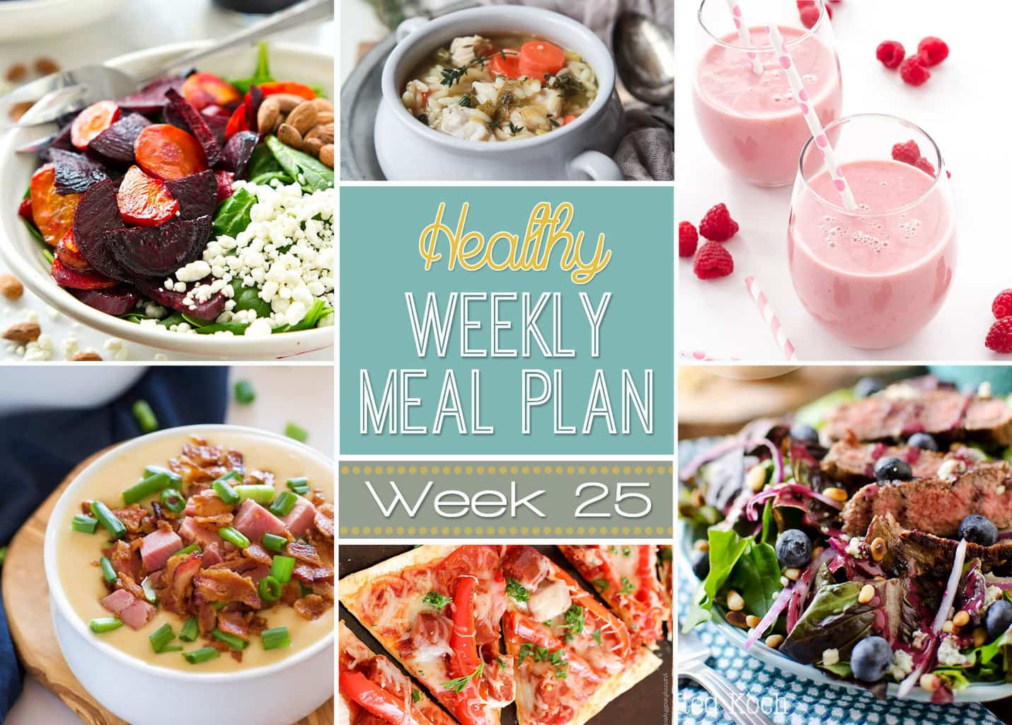 healthy weekly meal plan 25 yummy healthy easy