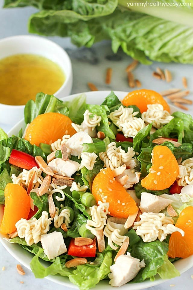 This Best Ever Chinese Chicken Salad Is A Healthy Flavorful Easy Lunch Or Dinner