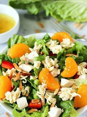 Chinese Chicken Salad with Easy Homemade Dressing