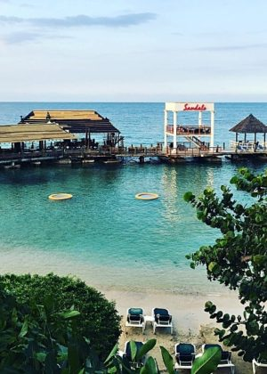 The beautiful Sandals Resort in Ocho Rios, Jamaica for the Eat, Love, Sandals Food Blogger Retreat!