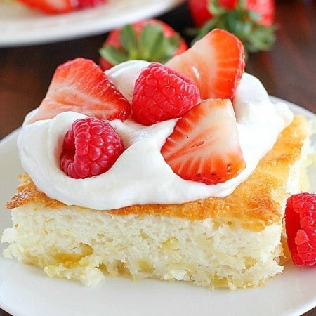 2 Ingredient Fluff Cake