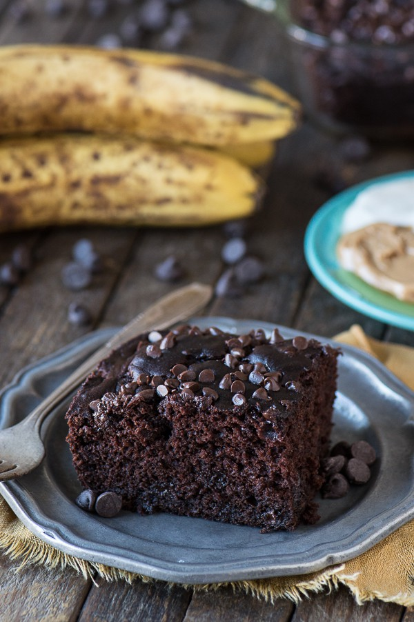 Healthier Chocolate Cake by The First Year