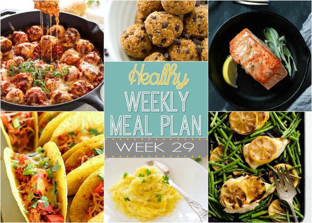 healthy weekly meal plan 29 yummy healthy easy