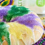 Have you ever made a King Cake for Mardi Gras? It's a fun, colorful cake to serve at a Mardi Gras celebration - or for any occasion because it's absolutely delicious!