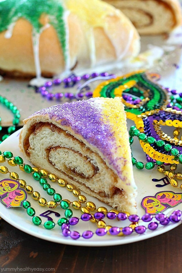 mardi gras king cake print a fun cake made for a mardi gras ...