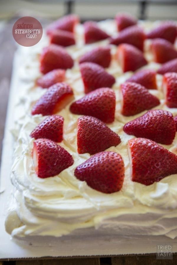 Skinny Strawberry Cake by Princess Pinky Girl