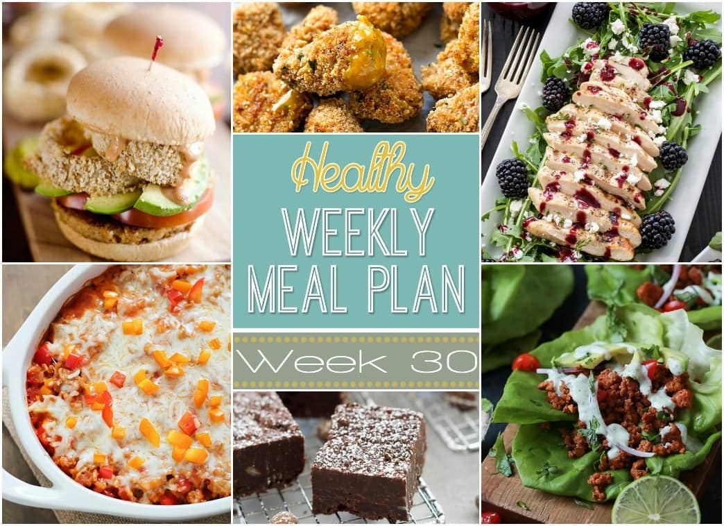 how to prepare healthy meals for the week