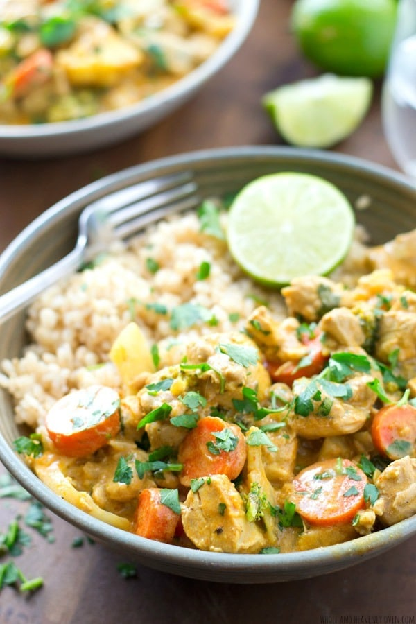 Homemade chicken curry has never been simpler with this foolproof recipe that cooks up in only 30 minutes.—SO much flavor loaded into this comforting, veggie-filled curry!