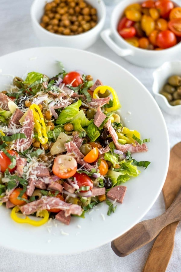 30 Minute Italian Chopped Salad by Simple Roots