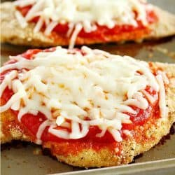 Skinny Chicken Parmesan Recipe