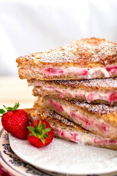 17 Lighter Strawberry Recipes - Yummy Healthy Easy