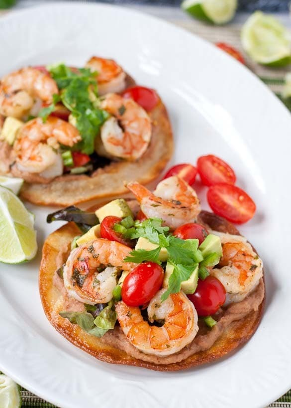 Margarita Shrimp Tostada by Neighborfood