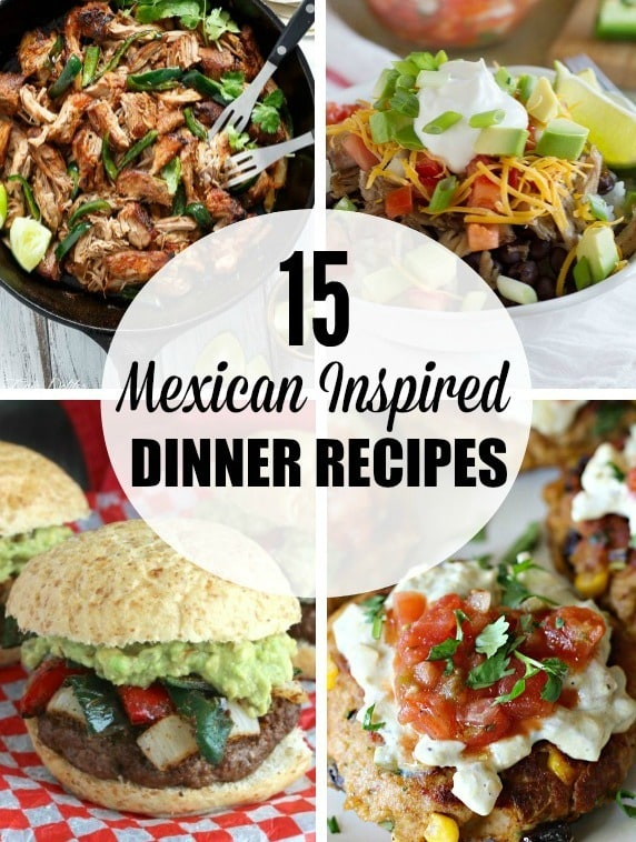 15 mexican inspired dinner recipes yummy healthy easy forumfinder Images