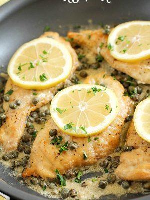 Skinny Chicken Piccata Recipe
