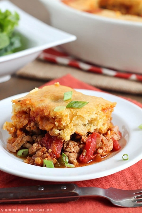 Tamale Pie by Yummy Healthy Easy