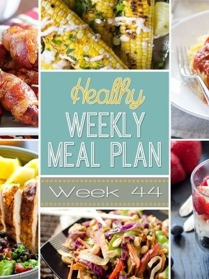 Healthy Weekly Meal Plan #44