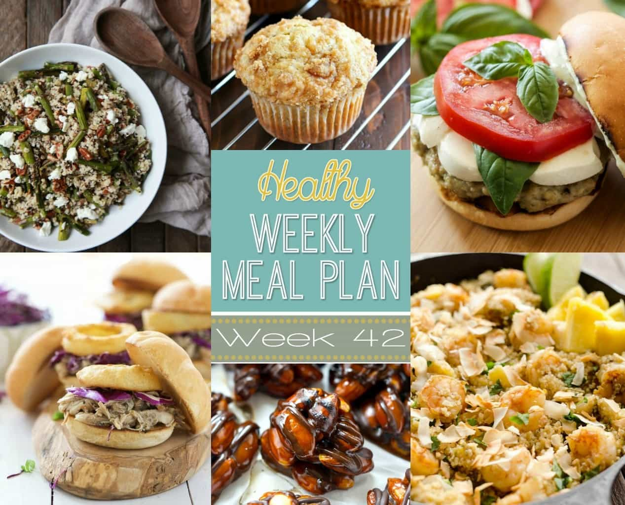 Healthy Weekly Meal Plan 42